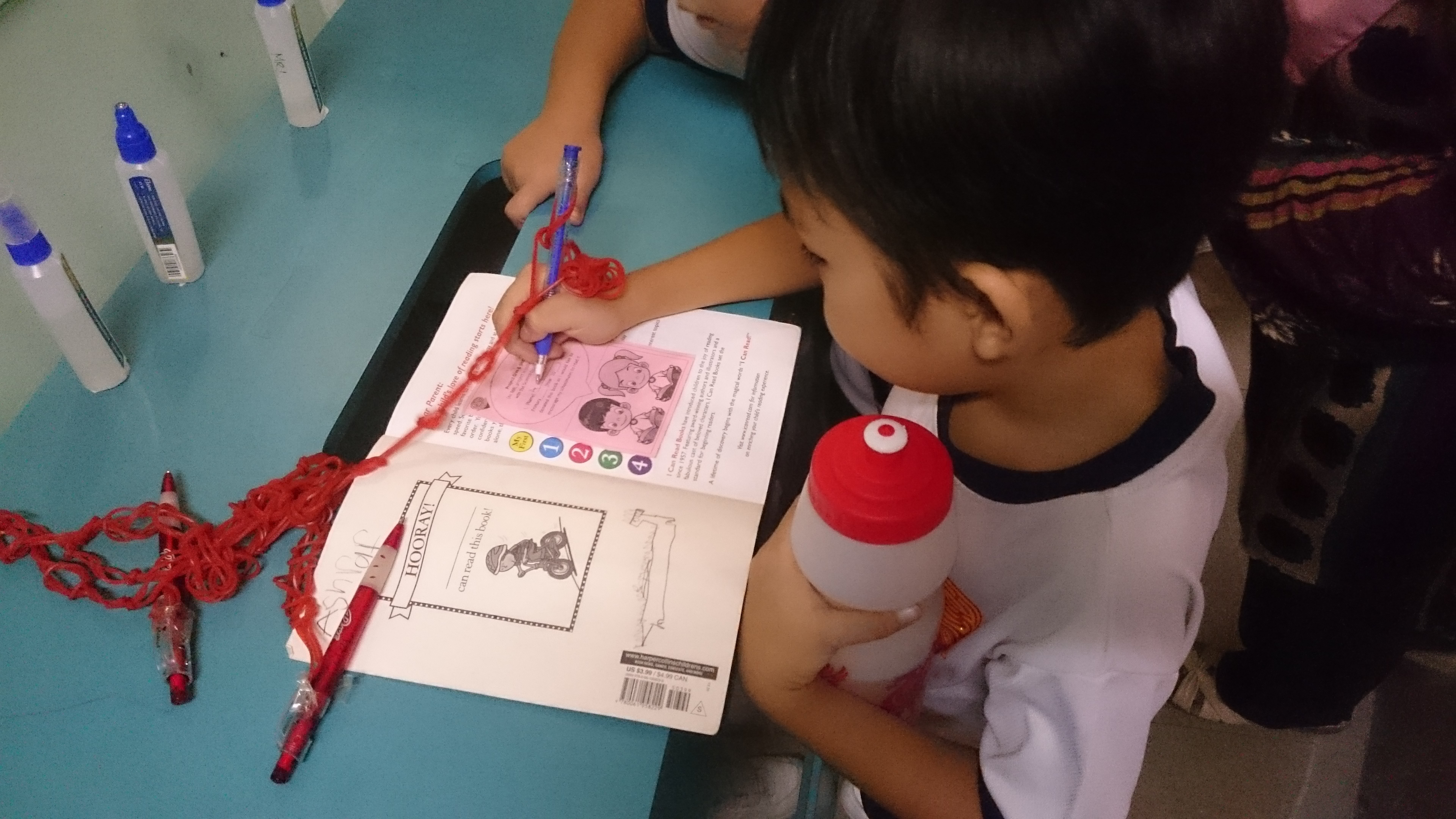 Project Give and Share - donate a used story book and share it your school mates.JPG